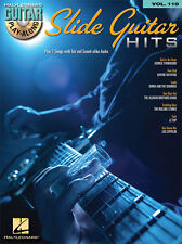 Slide Guitar Hits Guitar Play Along 7 Songs! Tab Book Cd NEW!