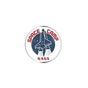NASA Space Camp Lapel Pin Badge/Brooch Retro Vintage Shuttle BNWT/NEW Gift