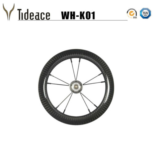 2018 3K Full Carbon Fiber Bike wheels 12er Carbon Kids Bike Wheel Double-Perlin