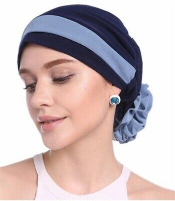 Diszipliniert Breites Haarband Turban Bandana Chemo Sommermütze Edel