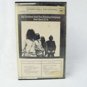 Big-Brother-And-The-Holding-Company-Cassette-How-Hard-It-Is-CT-30738-Very-Rare
