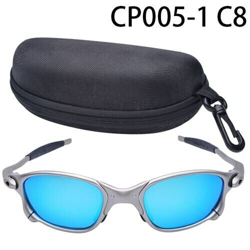 X-Metal Juliet Cyclops Sunglasses Ruby Polarized Glasstitanium Goggles ciclismo
