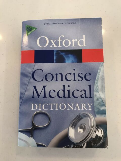 Concise Medical Dictionary by Oxford University Press (Paperback)