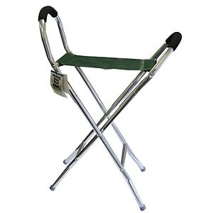 Folding Stool Pyramid Lightweight Aluminium Chair Walking