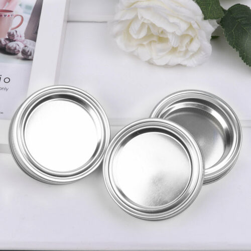 20 Split Type Lids Seal Storage Cap Secure Cover for Regular//Wide Mouth Mason US