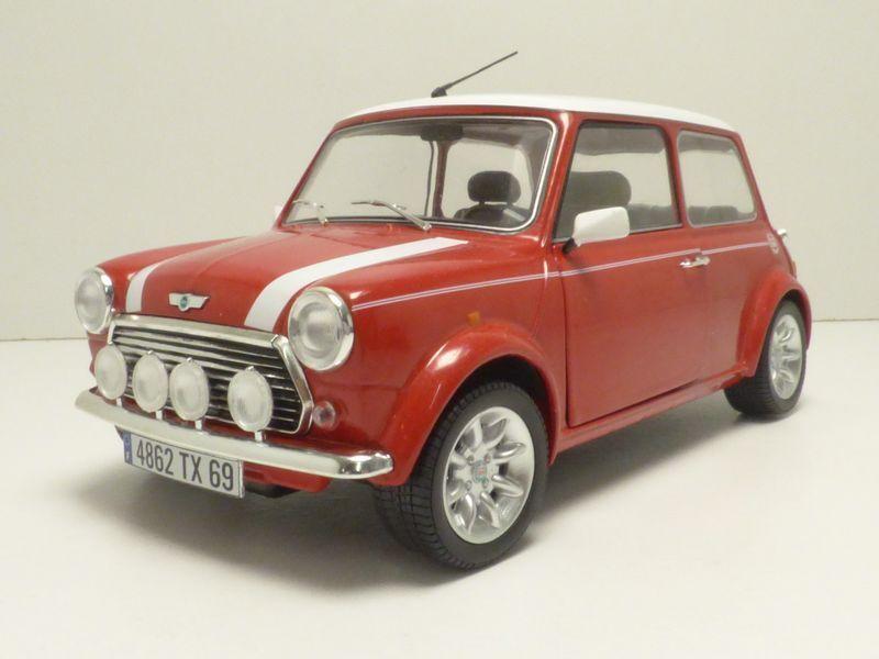 Mini cooper 1300 red fire 1 18 1997 1.3i monte carlo