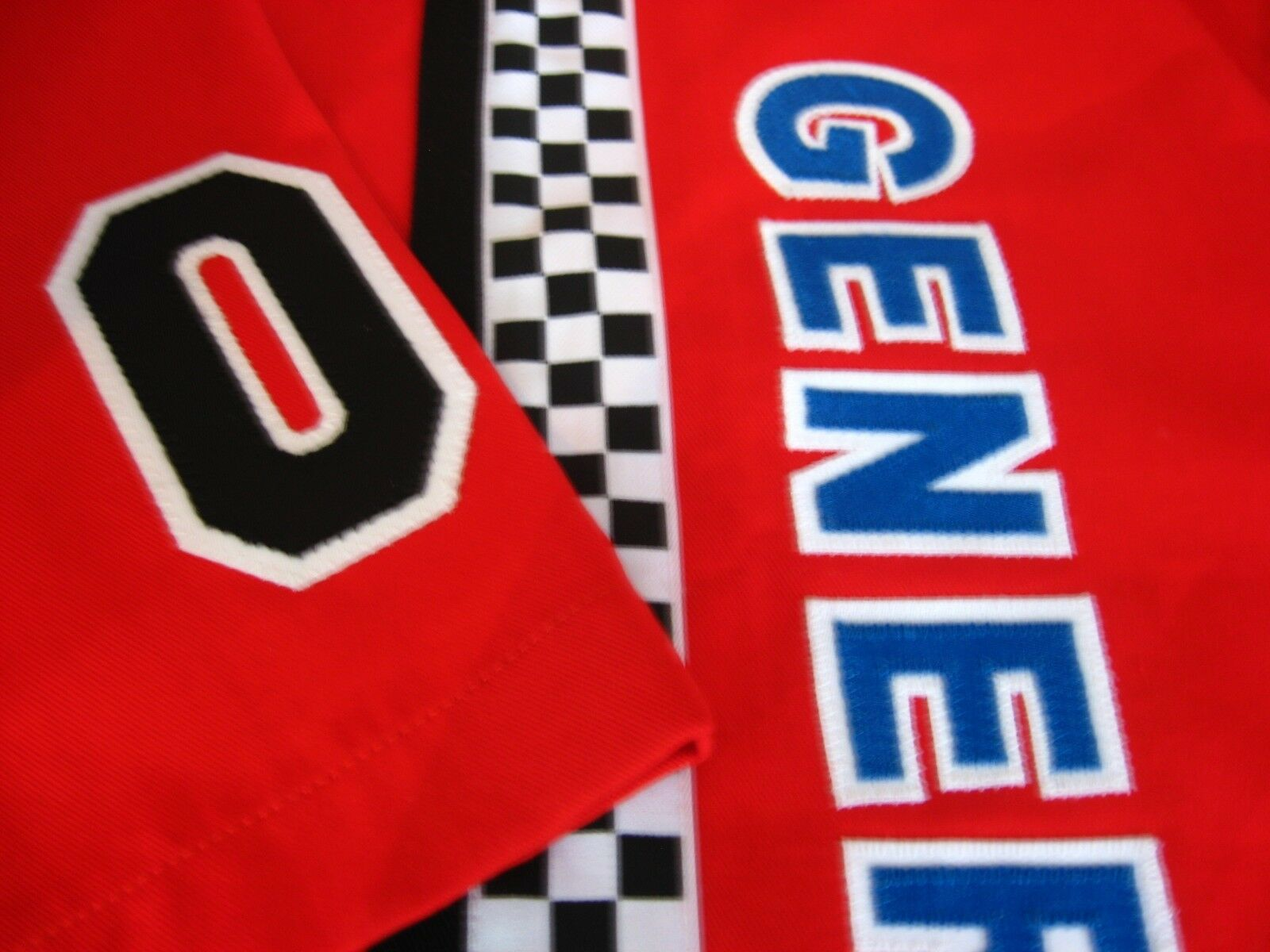 DUKES OF HAZZARD 4XL GENERAL LEE PRO NASCAR STYLE RACE BUTTON DRESS RED SHIRT