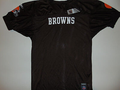 sale retailer c5975 7c536 BLANK NFL Cleveland Browns Jersey Mens Large Football ...
