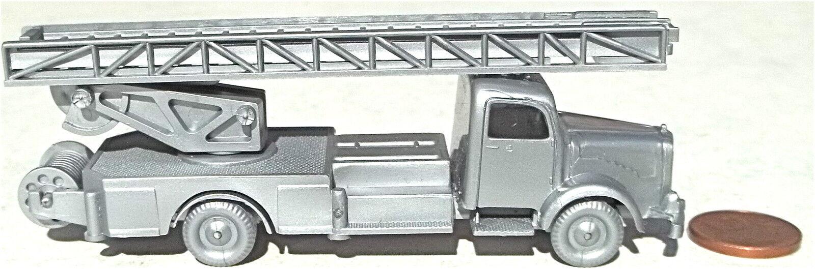 Pompier Chariot à Ridelles silverwehr Mercedes 5000 silver Imu H0 1 87 Réplique