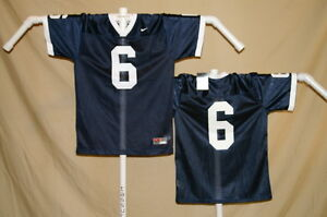 f553649f838 PENN STATE NITTANY LIONS Nike #6 FOOTBALL JERSEY Youth Large NWT ...