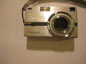 pentax optio sv camera d1.1 rough condiiton