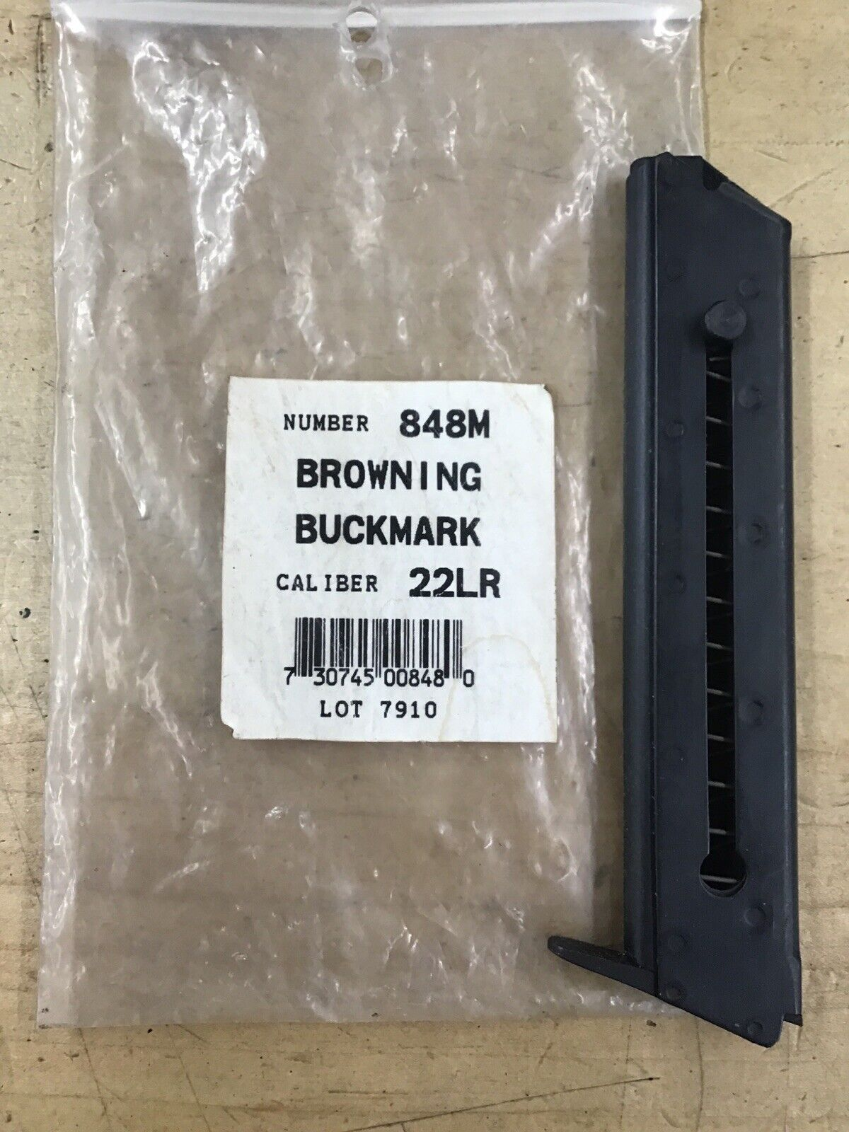 New Magazine Made by Triple K fits Browning Buckmark Challenger II III 10 Round