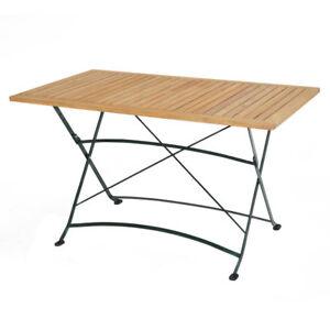 Ploss Teak Tisch Verona Klappbar Rechteckig 130 X 80 Cm Fsc