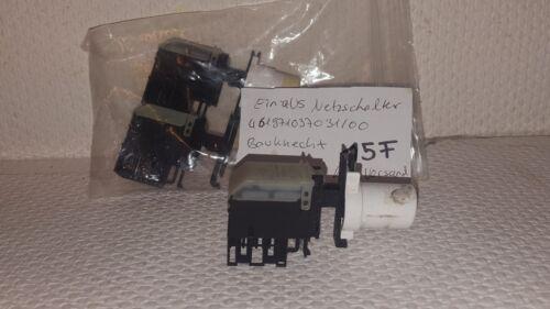 Touches Interrupteur//Pression touches Interrupteur//un-De Commutateur//Interrupteur Marche//Arrêt 461971037031//00