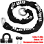 Biglufu Bike Lock Motorcycle Chain Locks 5Ft//150Cm Long With U Lock 16Oz And 2 E