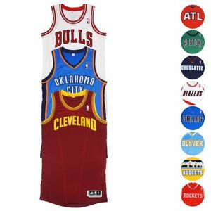 NBA Adidas Authentic On-Court Wordmark Climacool Revolution 30 Jersey Men's
