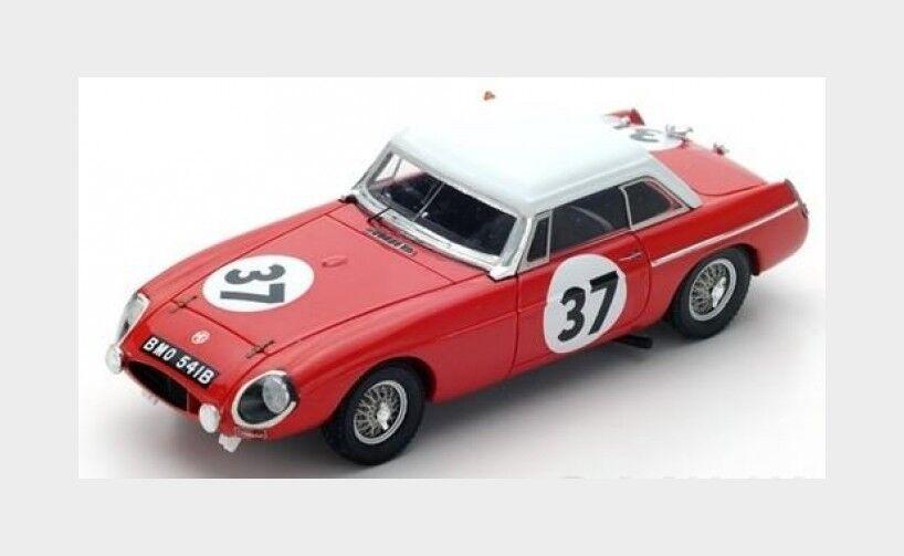 Mg Mgb Hardtop Team British Motor Corporation  37 Le Mans 1964 SPARK 1:43 S5078