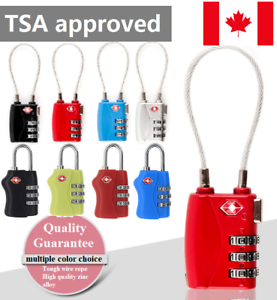 TSA-Locker-3-Digit-Combination-Padlock-Gym-Bike-Travel-Luggage-Suitcase-Lock