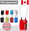 TSA-Locker-3-Digit-Combination-Padlock-Gym-Bike-Travel-Luggage-Suitcase-Lock miniature 1