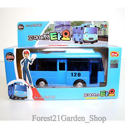 Korean animation little tayo bus pull back wheel - 1pcs