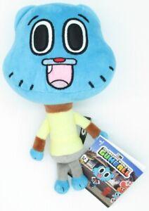 Peluche-20cm-Gumball-Amazing-Warriors-Of-The-World-Caracter-Actor-Azul-Original