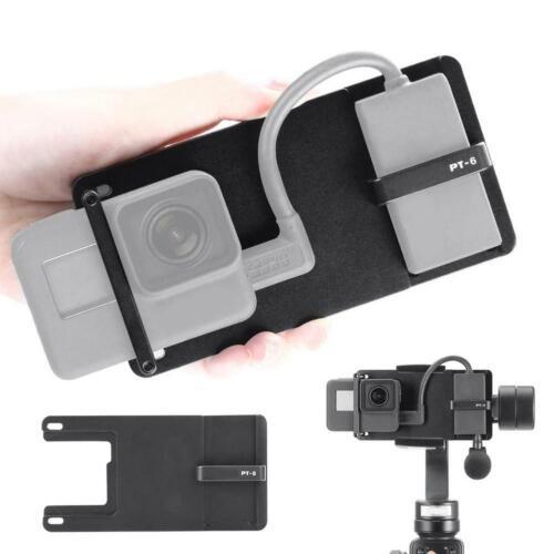 Placa de montaje de interruptor ULANZI PT-6 para soporte fijo GoPro para