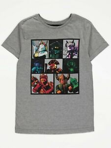 Roblox Kids Gamers T shirt Top. Gaming Children Top. Roblox Characters FREE P&P