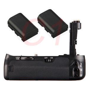 Battery Grip Holder For Canon EOS 6D Camera + 2 LP-E6 Battery as BG-E13 BGE13 701622995728