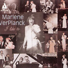I Like to Sing by Marlene VerPlanck (CD, Dec-1998, Audiophile Records)
