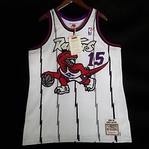 low priced a0dc2 5a648 100% Authentic Vince Carter Mitchell & Ness 98 99 Raptors ...