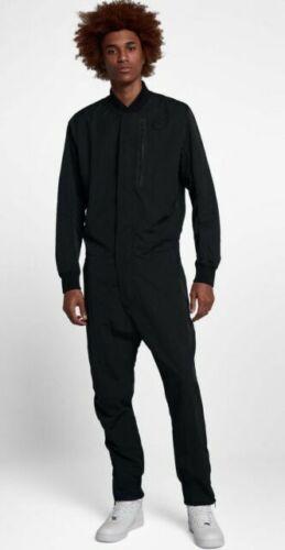 Nike Men's Tech Air Jumpsuit Black Full Body Suit ...