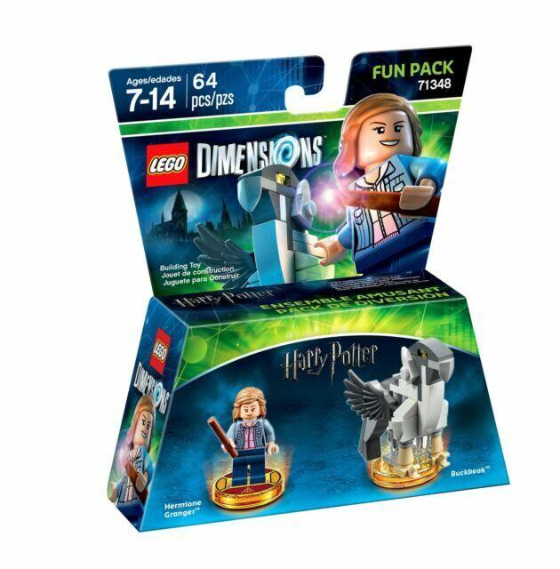 Lego Dimensions 71348 Harry Potter Hermione Granger /& Buckbeak NEW
