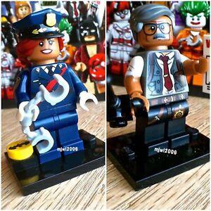 Lego Batman Movie Series Commissioner Gordon MINIFIGURES 71017 FACTORY SEALED