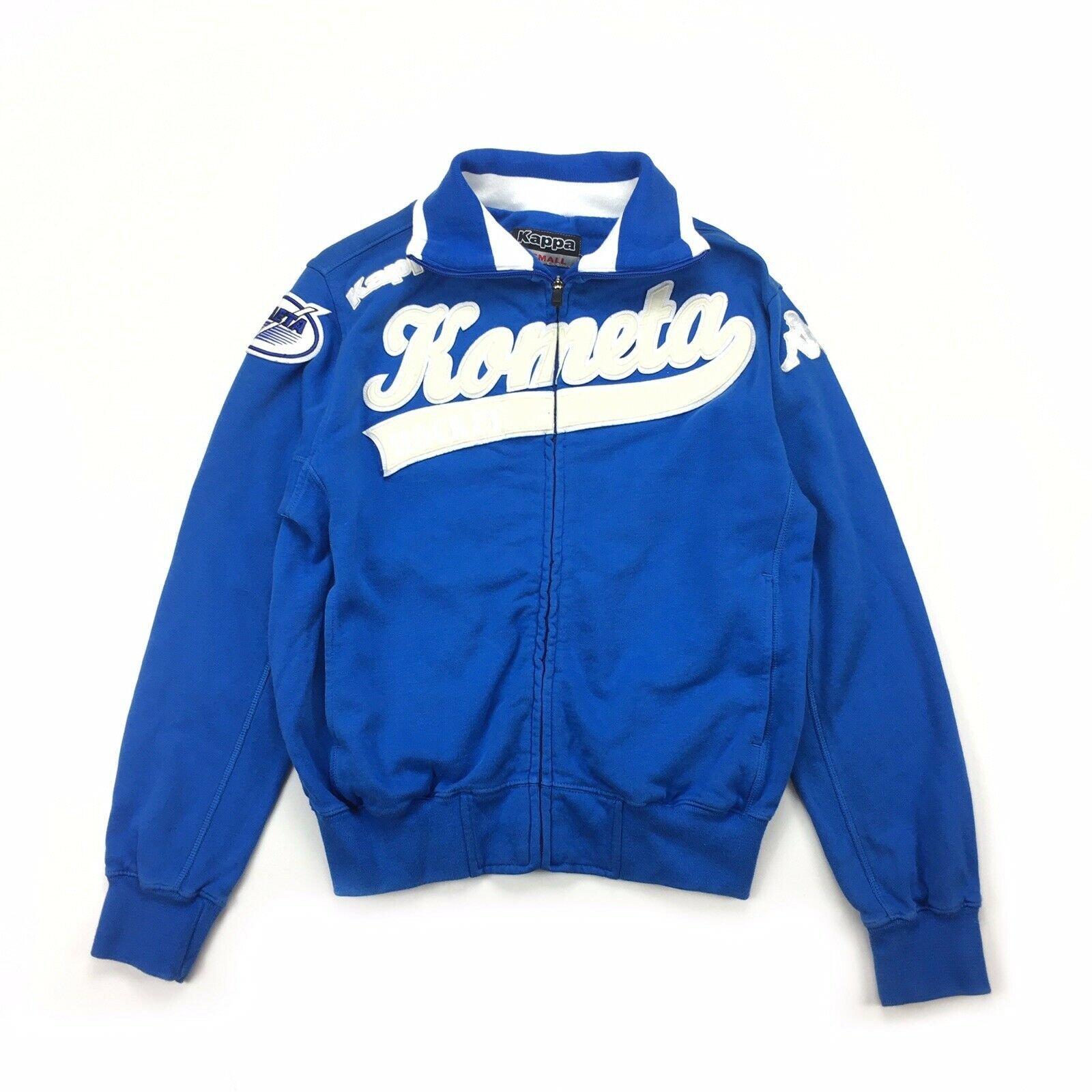 KAPPA NWT Offtrack Kometa Hockey Zip Up Sweatshirt Jacket Sz XS