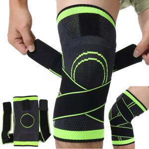 Adjustable-Genouillere-Respiration-Protege-Genou-Protection-Sport-Gym-Basketball