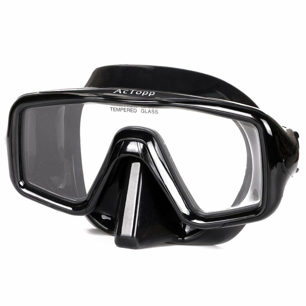 AcTopp Scuba Diving Snorkeling Mask Swimming Goggles Diving Single Double Lens