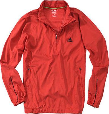 Adidas Tous Temps Veste Fermeture Éclair (M) Rouge X26100 | eBay