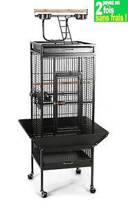 cage voli re pour perroquet cage perruches voli re. Black Bedroom Furniture Sets. Home Design Ideas