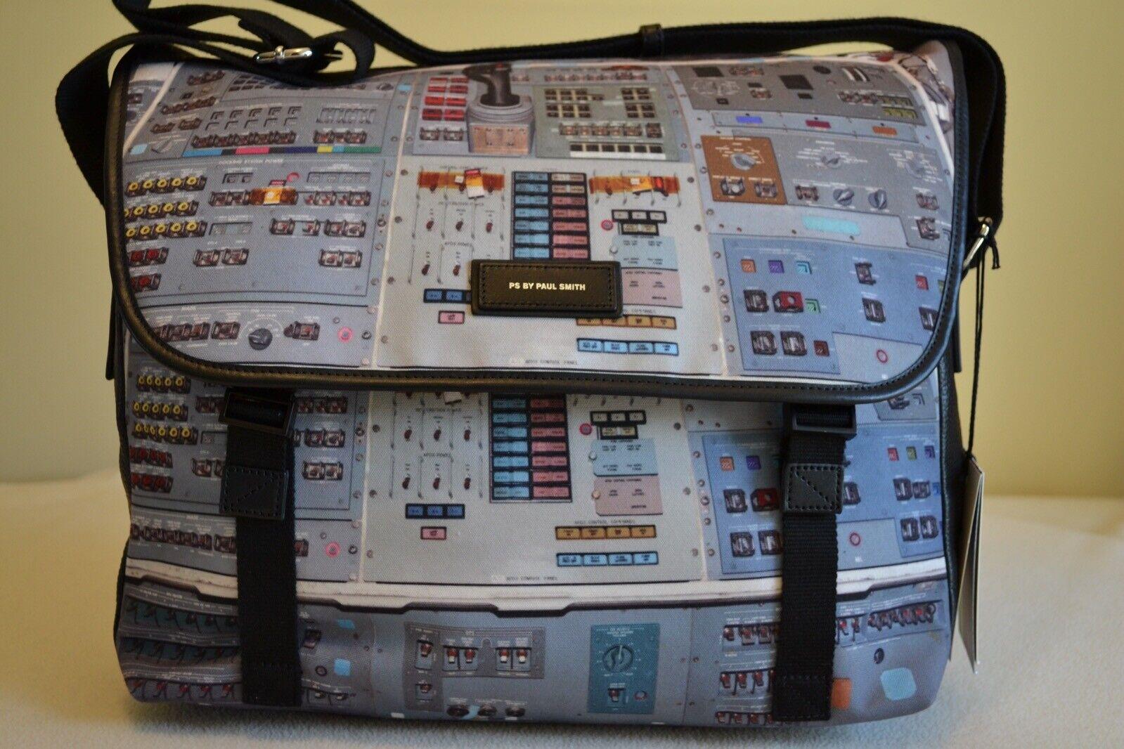 Paul Smith PS Messenger Bag Space Console Console Console Print Brand New    Qualitätskönigin  e3758f