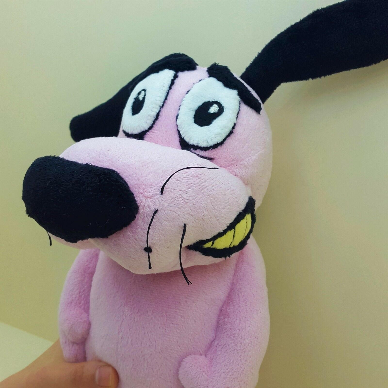 Courage the Cowardly Dog plush pink plushie doll doll