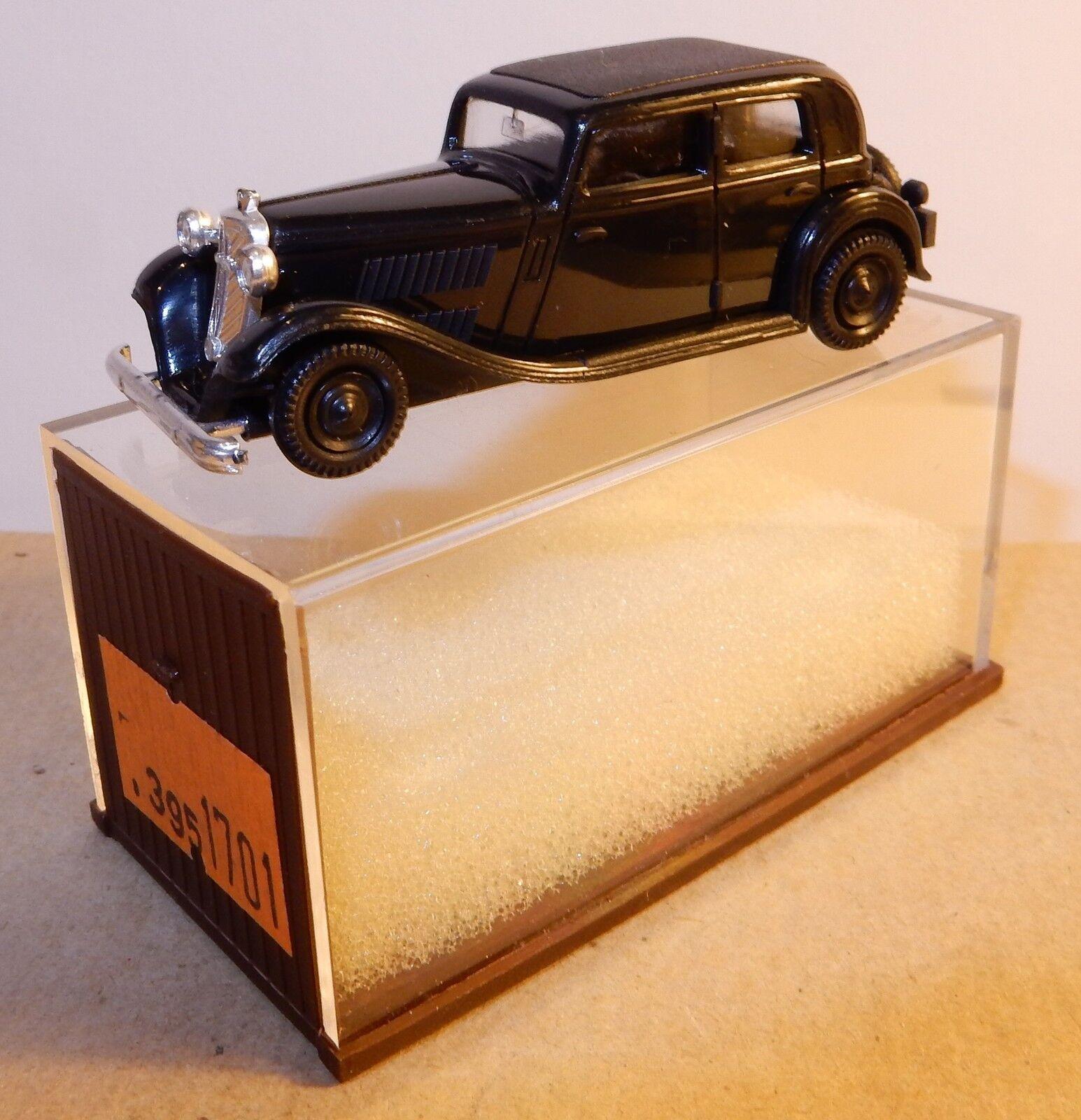 Rare MICRO BREKINA HO 1 87 WANDERER LIMOUSINE blackE IN BOX