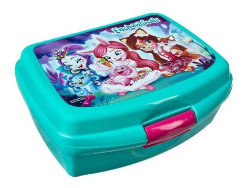 Enchantimals Brotzeitdose Lunchbox Brotdose Butterbrotdose Kinder Dose Schule