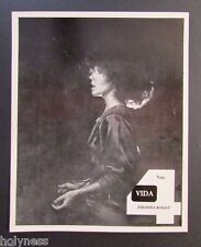 VINTAGE PRESS PHOTO / JOHANNA ROSALY / WAPA TV / PUERTO RICO / 1970's #1