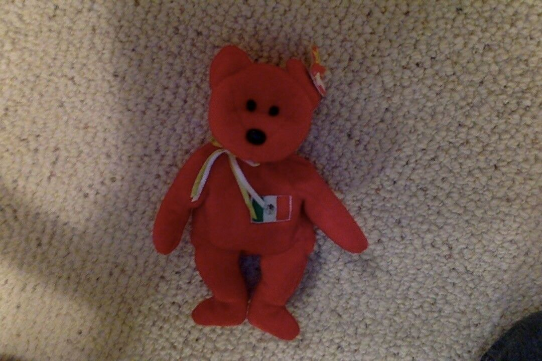 Rare Original 1999 Osito Beanie Baby Bear With Tags – – – Great Condition f7e820