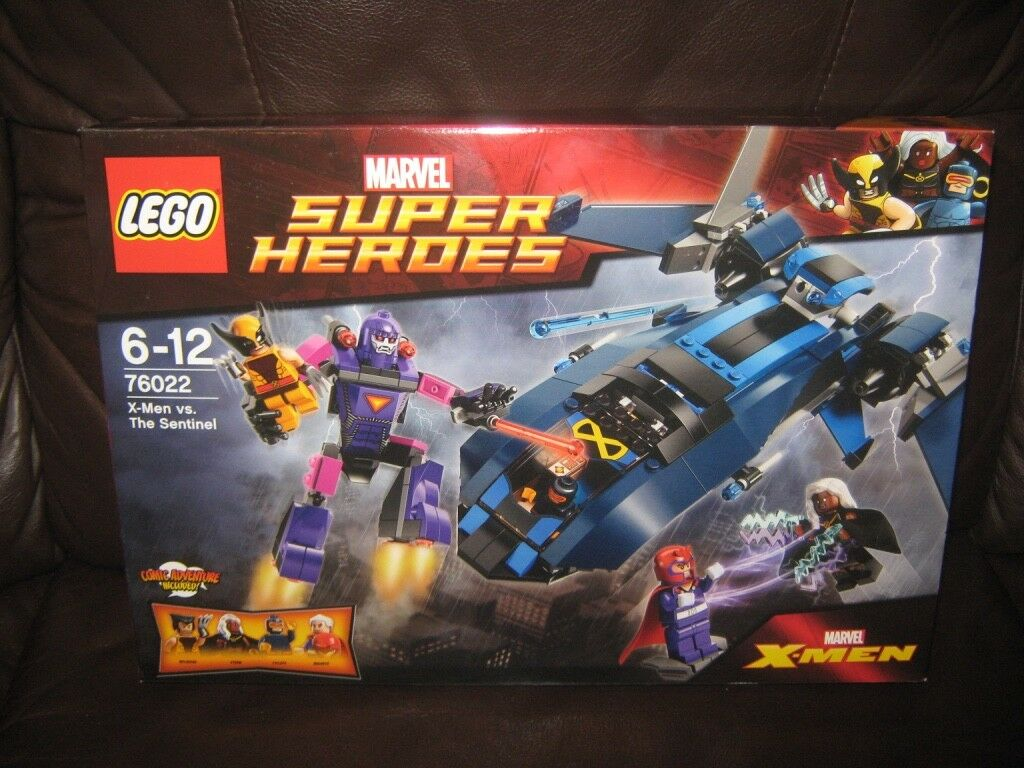 LEGO  Marvel Super Heroes  X-Men vs. The Sentinel  76022  NEW
