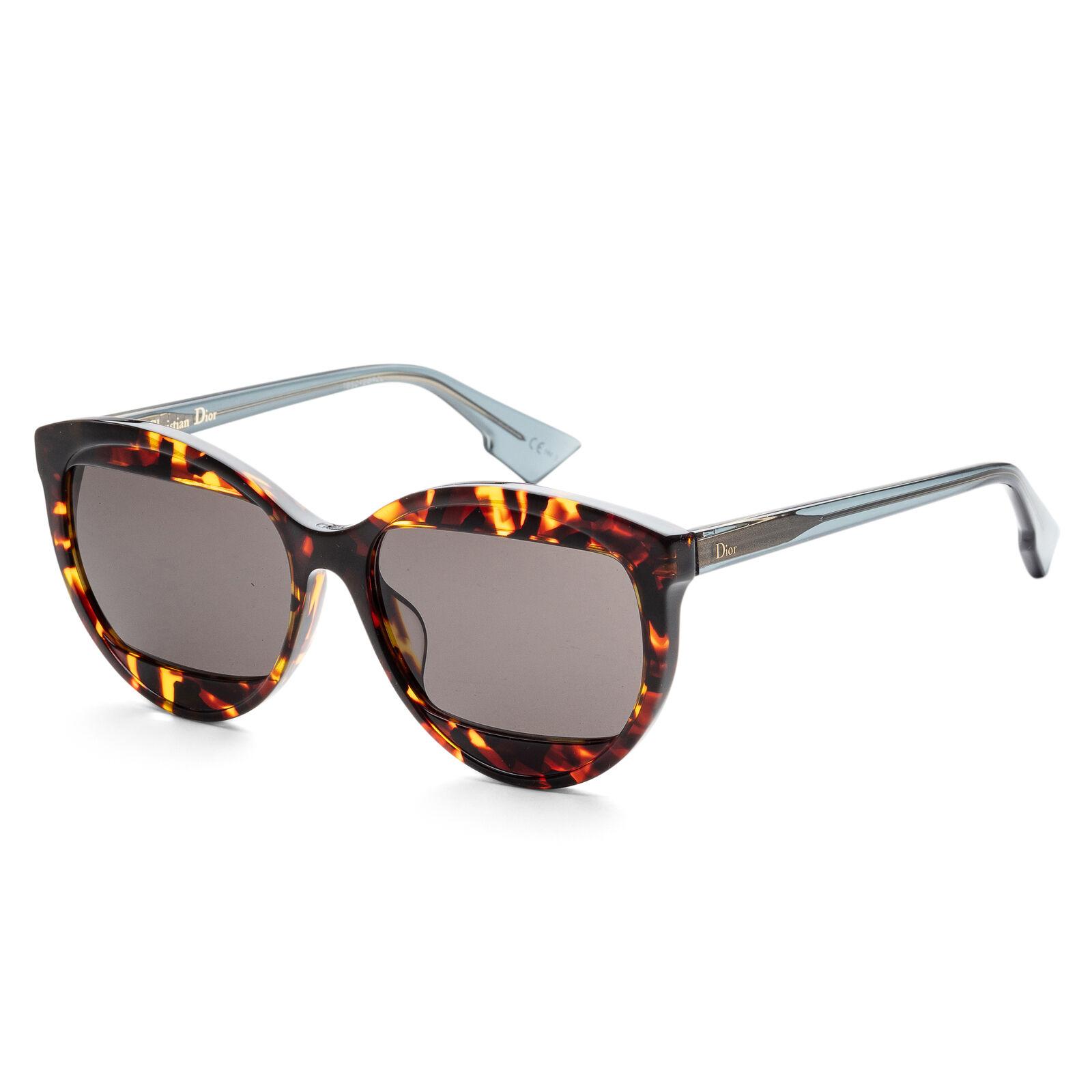 Christian Dior Women's MANIA2S-0TV9-IR 57mm Light Havana Frame Sunglasses