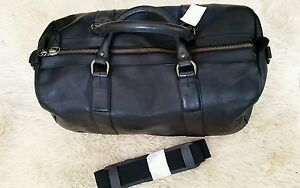 53462ab5a52 Image is loading Polo-Ralph-Lauren-Core-Leather-Duffle-Bag