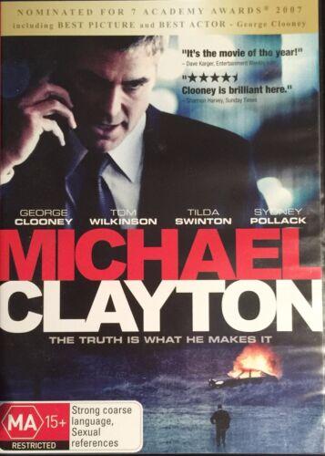 1 of 1 - Michael Clayton (DVD, 2008)  George CLooney / Tom Wilkinson   BRAND NEW