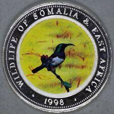 1998 Somalia Large 25 Sh-Wildlife -Bird on Branch