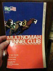 MKC-Multnomah-Kennel-Club-Greyhound-Racing-Program-Mon-August-31-1977-68TH-DAY